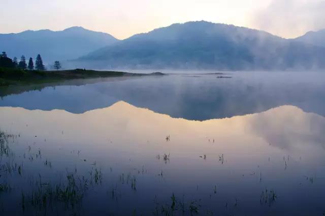 水北际岭风景图片